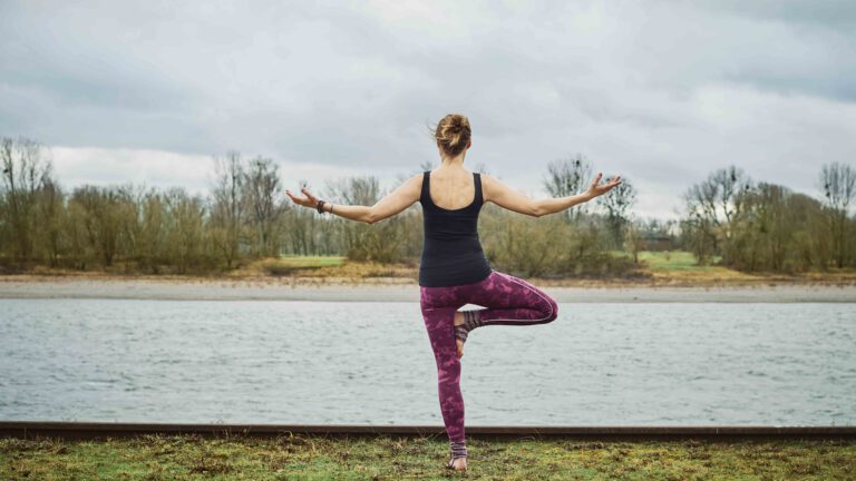 Yoga ohne Matte